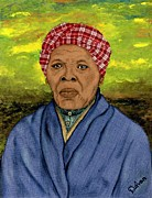 Harriet Tubman Prints - Harriet Print by Delvon