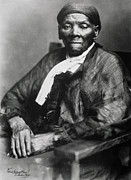 Slavery Metal Prints - Harriet Tubman  Metal Print by American School