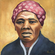 Harriet Tubman Paintings - Harriet Tubman by Linda Ruiz-Lozito