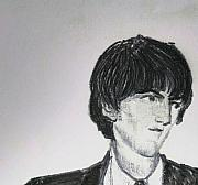 Beatles Digital Art Originals - Harrison 4.1964 by Moshe Liron