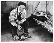 Harry Houdini Photos - Harry Houdini   1874 - 1926 by Daniel Hagerman