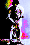 Fantasy Metal Prints - Harry Houdini - 20130208 Metal Print by Wingsdomain Art and Photography
