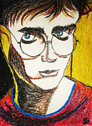 Daniel Pastels Prints - Harry Potter Print by Shruti Shubham