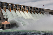 Lynne Jenkins - Hartwell Dam with Flood...