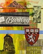 Cambridge Mixed Media - Harvard 2 by Damian Barneschi