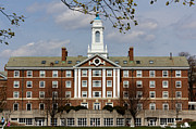 School Houses Photos - Harvard University Moors Hall by Jannis Werner