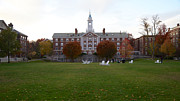 Dormitories Art - Harvard University Radcliffe Quadrangle by Jannis Werner