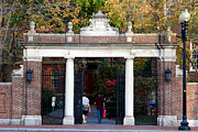 Dormitories Art - Harvard University Straus Gate by Jannis Werner