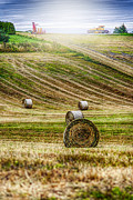 Combine Posters - Harvest Day Poster by Erik Brede