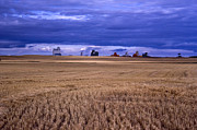 Agronomy Photos - Harvest Storm by Roderick Bley