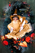 Terri Waters Art - Harvest Witch by Terri  Waters