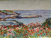 Hassam Originals - Hassam Appledore Waterscape by Richard Nowak