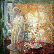 Hassam Framed Prints - Hassams Tangara -- The Builders New York Framed Print by Cora Wandel