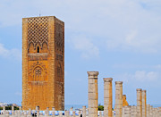 Rabat Prints - Hassan Tower in Rabat Print by Karol Kozlowski