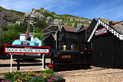 Trawler Metal Prints - Hastings Miniature Railway Metal Print by James Brunker