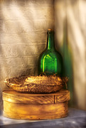 Box Wine Prints - Hat Maker - A hat box and its hat  Print by Mike Savad