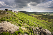 Wark Photo Framed Prints - Hathersage Moor Framed Print by Julie Woodhouse