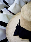 St.tropez Photo Prints - Hats Off To You Print by Lainie Wrightson