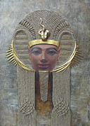 Hieroglyphics Paintings - Hatshepsut by Valentina Kondrashova