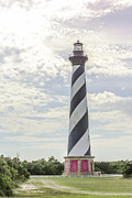 Hatteras Posters - Hatteras Lighthouse Poster by Kay Pickens