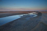 Beach Photograph Posters - Hatteras Tidal Pools II Poster by Steven Ainsworth