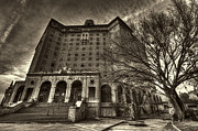 Haunted House  Digital Art - Haunted Baker Hotel by Jonathan Davison