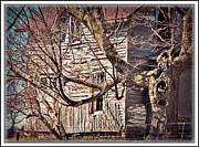 Haunted House Digital Art - Haunted House by Donna Brown