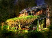 Ghostly Barn Photos - Haunted House by Svetlana Sewell