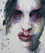 Lips Paintings - Haunted   by Paul Lovering