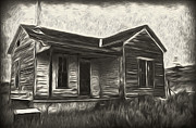 Haunted Shack Framed Prints - Haunted Shack - 02 Framed Print by Gregory Dyer