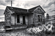 Haunted Shack Print by Gregory Dyer