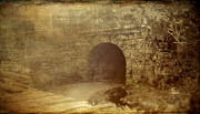 Haunted Tunnel Print by Kathy Jennings