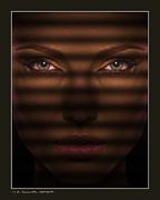 Haunting Eyes Print by Pedro L Gili