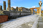Haunting Ruins Of Ancient Pompeii Print by Mark E Tisdale