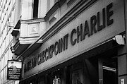 Berlin Germany Photo Prints - haus am checkpoint charlie museum Berlin Germany Print by Joe Fox