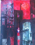 Cuba Mixed Media - Havana Heat by Ana Julia Fishman