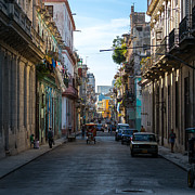 Havana Prints - Havana Morning Print by Jane Sheng