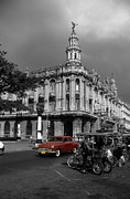 City And Colour Framed Prints - Havana Red Framed Print by James Brunker