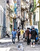 Havana Street Vii Print by Jim Nelson