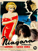 Havanese Paintings - Havanese Art - Niagara Movie Poster by Sandra Sij