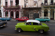 Havanna Prints - Havanna Traffic Print by Juergen Klust
