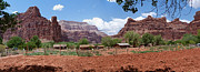 Sofa Size Art - Havasupai Village Panorama by Alan Socolik