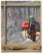 Coca Cola.coke-a-cola Prints - Have a Coke Print by Nomad Art And  Design