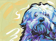 Havanese Paintings - Have a Neese Day by Lea