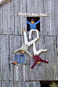 Window Signs Art - Have A Nice Fall by Alan L Graham