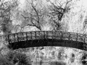 Black White And Sepia Art - Havens Bridge  by Devalyn Marshall