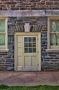 Haverford Framed Prints - Haverford College Door Framed Print by Kay Pickens
