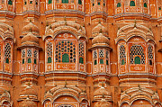 Singh Prints - Hawa Mahal-Palace of Winds Print by Mukesh Srivastava