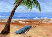 Beach Towel Prints - Hawaii Vacation Print by Darice Machel McGuire