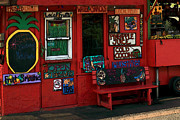 Fruit Stand Prints - Hawaiian Juice Bar Print by James Eddy